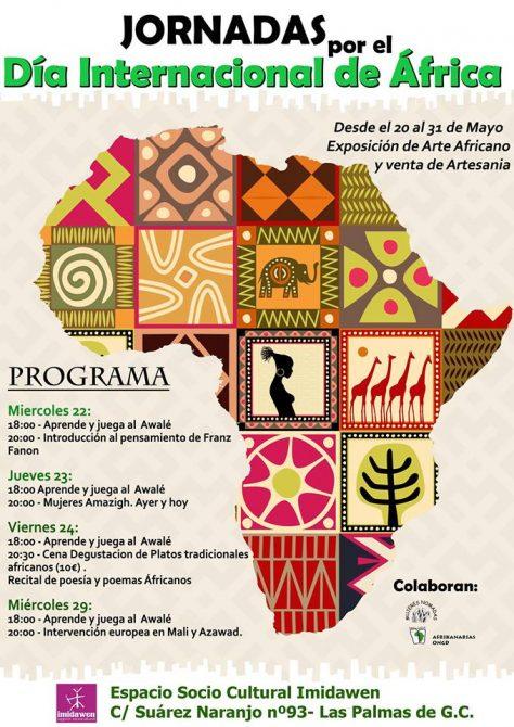 cartel jornadas de África